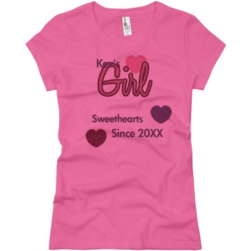 Kev&#x27;s Girl Junior Fit Basic Bella Favorite Tee