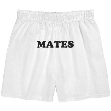 Soul Mates Boxers Unisex Robinson Boxer Shorts