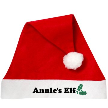 Elf Santa Hat Personalized Santa Hat