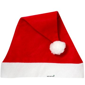 HO HO HO Santa Hat Personalized Santa Hat