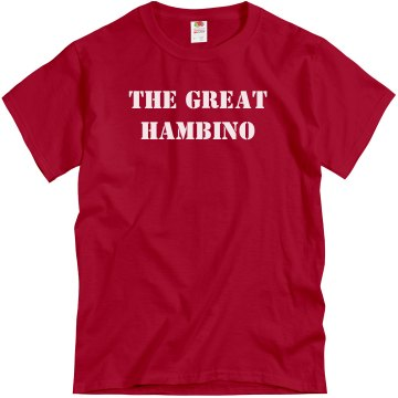 Great Hambino Unisex Gildan Heavy Cotton Crew Neck Tee