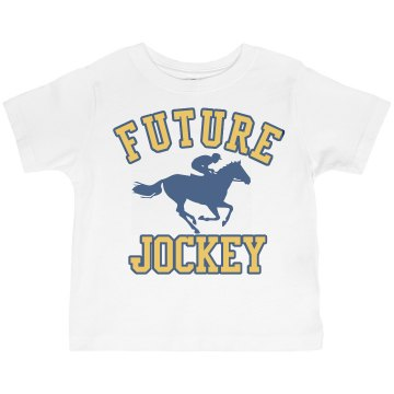 Future Jockey Toddler Basic Gildan Ultra Cotton Crew Neck Tee