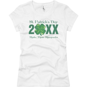 St. Patrick&#x27;s Day Junior Fit Basic Bella Favorite Tee