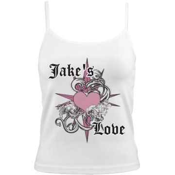 Jake's Love Bella Junior Fit Contrast Satin Trim Cami