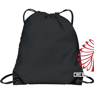 Cherokee cheer bag Port &amp; Company Drawstring Cinch Bag