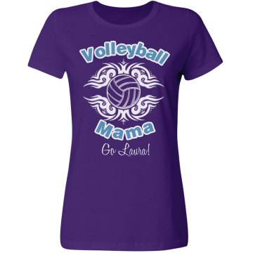 Volleyball Mom Tee Misses Relaxed Fit Gildan Ultra Cotton Tee