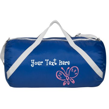 Custom Ballet Butterfly Augusta Sport Roll Bag