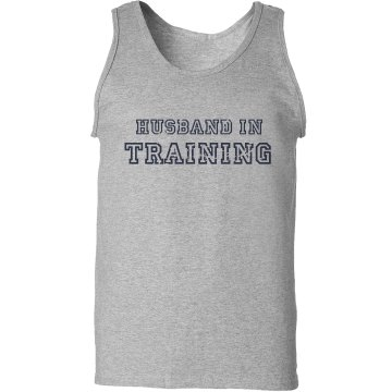 Husband In Training Unisex Basic Gildan Ultra Cotton Tank Top