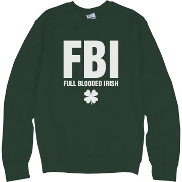 Full Blooded Irish Junior Fit Bella 1x1 Rib Ringer Tee