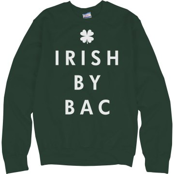 Irish By Association Junior Fit Bella 1x1 Rib Ringer Tee