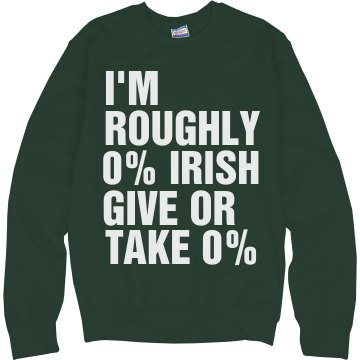 Kiss Me 1/2 Irish Junior Fit Bella 1x1 Rib Ringer Tee