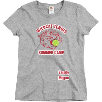 Wildcat Tennis Camp Misses Relaxed Fit Gildan Ultra Cotton Tee