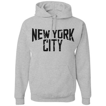 New York City Hoodie Unisex Gildan Heavy Blend Hoodie