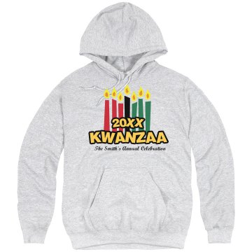 Kwanzaa Celebration Unisex Hanes Ultimate Cotton Heavyweight Hoodie