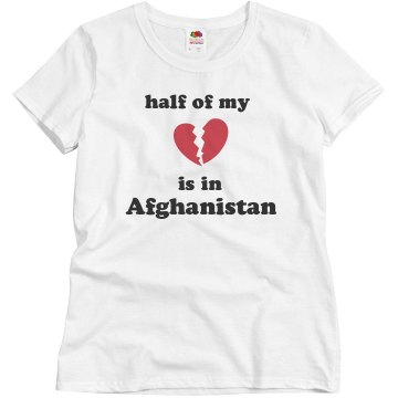 Half Of My Heart Misses Relaxed Fit Basic Gildan Ultra Cotton Tee