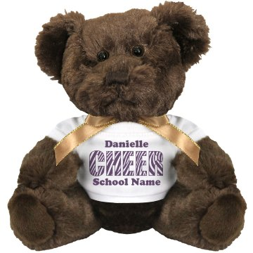 Danielle's Cheer Bear Medium Plush Teddy Bear