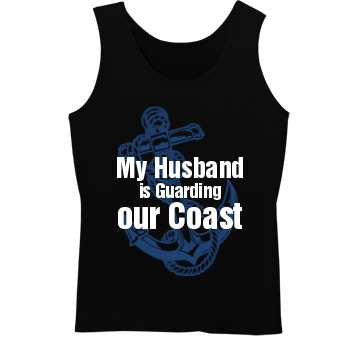 Guarding our Coast Misses Relaxed Fit Anvil Heavyweight Tank Top