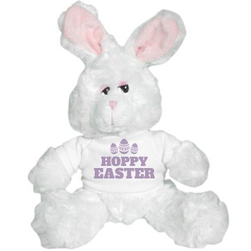 Hoppy Easter Plush Bunny
