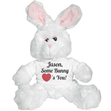 Some Bunny Loves You! Plush Bunny