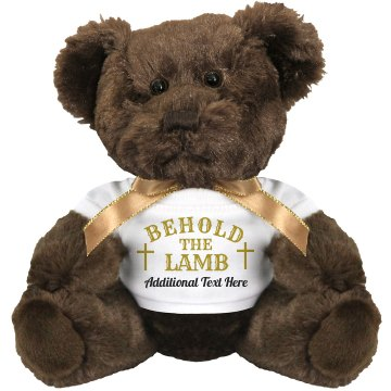Behold the Lamb Plush Lamb