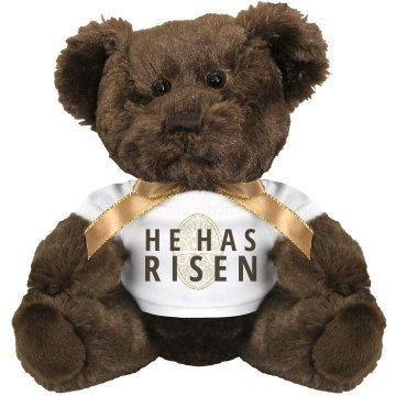 He Has Risen Plush Lamb