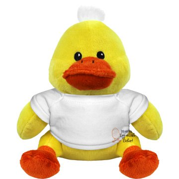 Egg-cellent Easter Plush Duckie