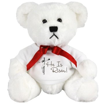 Jesus He Is Risen Plush Lion