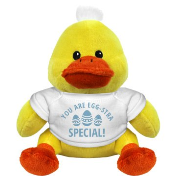 You&#x27;re Egg-stra Special Plush Duckie