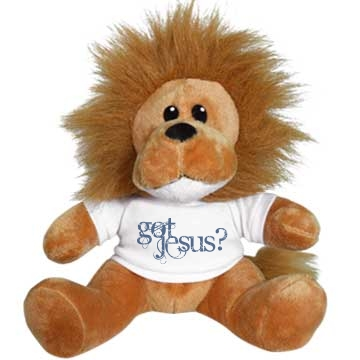 Got Jesus? Plush Lion