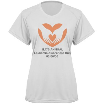 Dry Fit Leukemia Shirt Paragon Women's Performance Tee