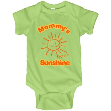 Mommy&#x27;s Sunshine Infant Rabbit Skins Lap Shoulder Creeper