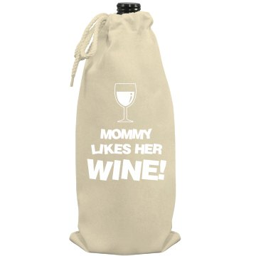 Mommy Likes Wine Port Authority Wine Bag