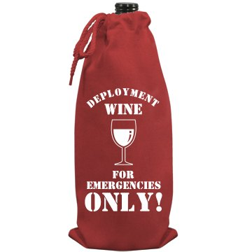 Deployment Wine Port Authority Wine Bag