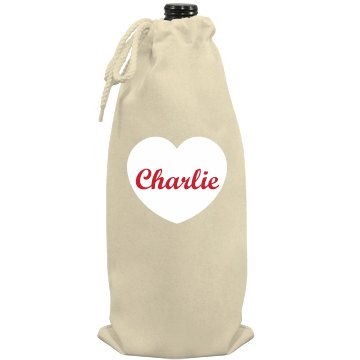 Love Charlie Port Authority Wine Bag