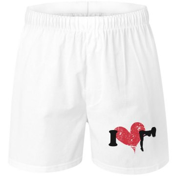 I Love Strippers Unisex Robinson Boxer Shorts