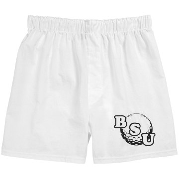 Golf Initials Boxers Unisex Robinson Boxer Shorts