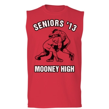 Wrestling Seniors Unisex Gildan Ultra Cotton Sleeveless Tee