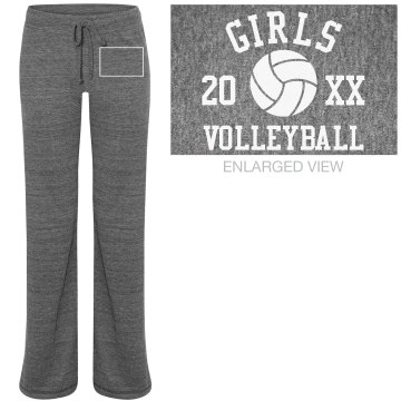 Volleyball Sweats Junior Fit Bella Straight Leg Fleece Sweatpant