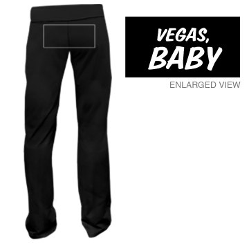 Vegas Sweats Junior Fit Bella Fitness Pants