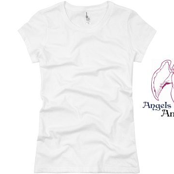 Angels Among Us Junior Fit Basic Bella Favorite Tee