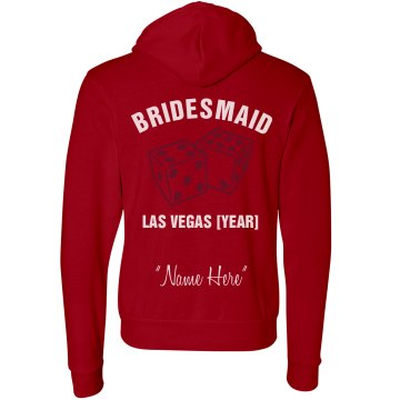 Bridesmaid Unisex Gildan Heavy Blend Full Zip Hoodie