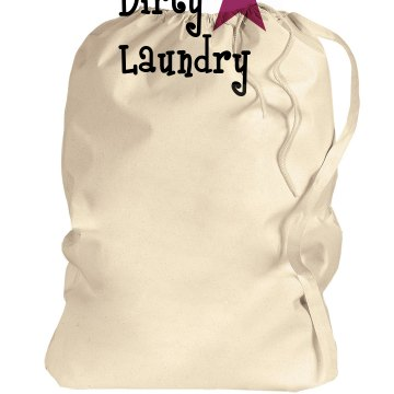 Dirty Laundry Port Authority Laundry Bag