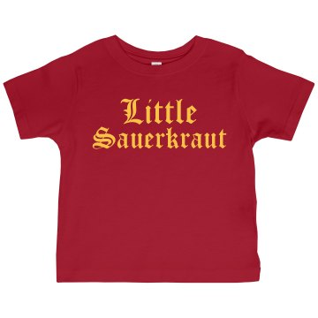 Little Sauerkraut Toddler Gildan Ultra Cotton Crew Neck Tee