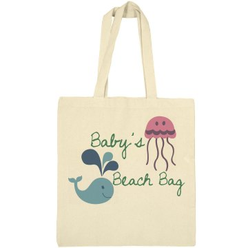 Baby's Bag Liberty Bags Canvas Bargain Tote Bag