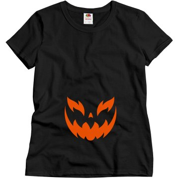 Pumpkin Smuggler Misses Relaxed Fit Gildan Ultra Cotton Tee
