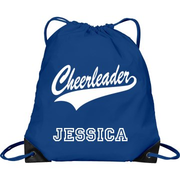 Cheer Bag Port & Company Drawstring Cinch Bag