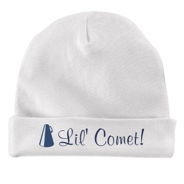 Lil Comet Cheerleader Infant American Apparel Baby Hat