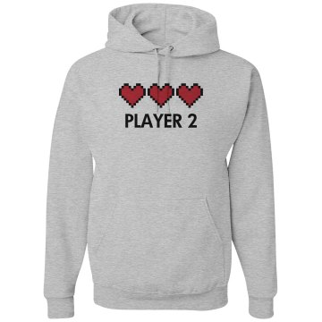 Player 2 Unisex Gildan Heavy Blend Hoodie