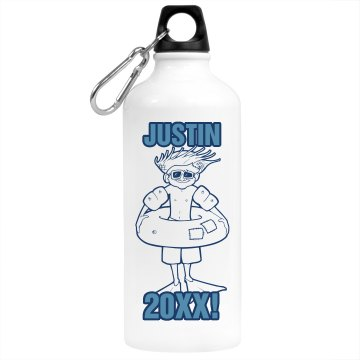 Beach Bound Water Bottle Aluminum Water Bottle