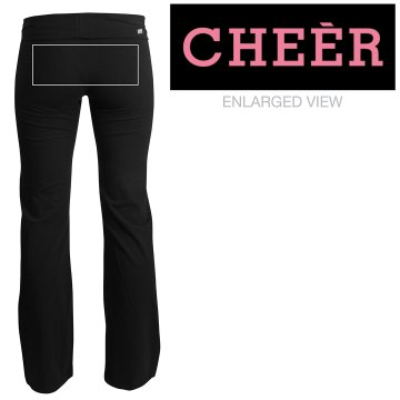 Rhinestone Cheer Pants Junior Fit Soffe Yoga Pants
